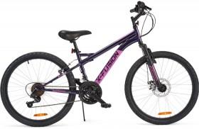 60cm-X-Fusion-Purple-Front-Suspension-Bike on sale
