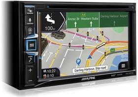 Alpine-6.5-200W-AV-DAB-Receiver-With-Inbuilt-iGO-Navigation-CarPlay-Android-Auto on sale