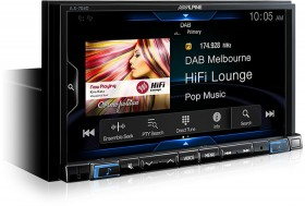 Alpine-7-200W-AV-DAB-Receiver-With-Inbuilt-CarPlay-Android-Auto on sale