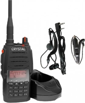 Crystal-5W-80CH-Handheld-UHF-CB-Radio-Pack on sale