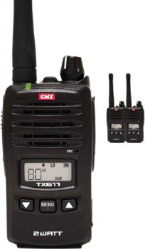 GME-2W-80CH-Handheld-UHF-CB-Radio on sale