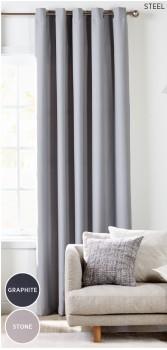 Icon-Room-Darkening-Eyelet-Curtains on sale