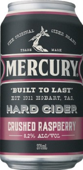 Mercury-Hard-Cider-Crushed-Raspberry-375mL-Cans on sale