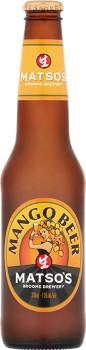 Matsos-Mango-Beer-330mL on sale