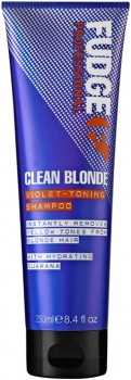 Fudge-Clean-Blonde-Violet-Toning-Shampoo-250mL on sale