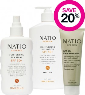 Save-20-on-Natio-Suncare-Range on sale