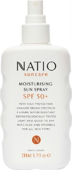 Natio-Suncare-Moisturising-Sun-Spray-SPF-50-200mL on sale