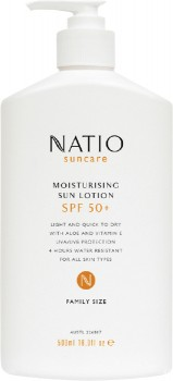 Natio-Suncare-Moisturising-Sun-Lotion-SPF-50-500mL on sale