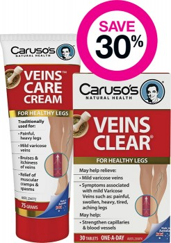 Save-30-on-Carusos-Veins-Clear on sale