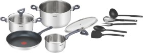 NEW-Tefal-Daily-Cook-Induction-Set-Stainless-Steel on sale