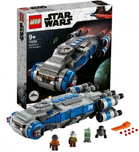 NEW-LEGO-Star-Wars-Galaxys-Edge-Resistance-I-T-S-Transport on sale