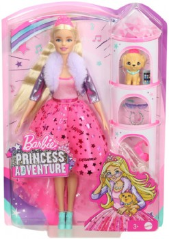 Barbie-Modern-Day-Princess-Deluxe-Doll-Adventure on sale