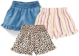 K-D-Kids-Woven-Frill-Shorts on sale