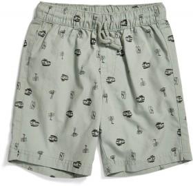K-D-Elastic-Waist-Print-Woven-Shorts on sale