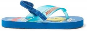 Minions-Infant-Boys-Print-Thongs-Blue on sale