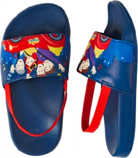 The-Wiggles-Infant-Girls-Slides-Navy on sale