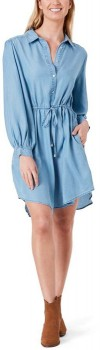 The-1964-Denim-Co.-Volume-Sleeve-Dress on sale