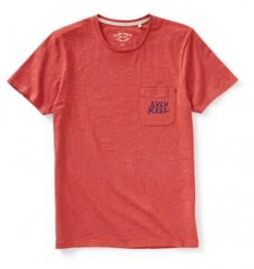 The-1964-Denim-Co.-Mens-Short-Sleeve-Slub-Graphic-Tee-Rust on sale