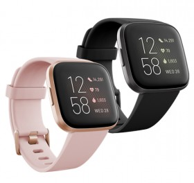 Fitbit-Versa-2-BlackCarbon-or-PetalCopper-Rose on sale