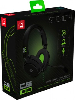 Stealth-PS4-or-Xbox-One-C6-100-Gaming-Headset-Green on sale