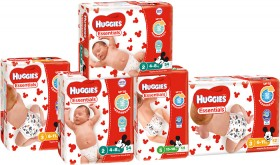 Huggies-Essential-Nappies on sale