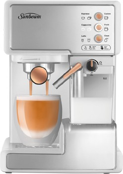 Sunbeam-Cafe-Barista-with-Milk-Frother on sale