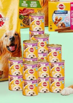 Pedigree-12-Pack-Dog-Food-Can-Varieties-700g on sale