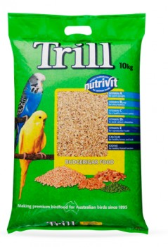 Trill-Budgerigar-Food-10kg on sale