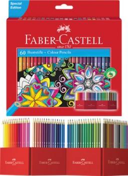 Faber-Castell-60-Piece-Pencil-Set on sale