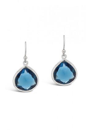 Fairfax-Roberts-Gemstone-Single-Drop-Earrings on sale