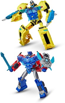 Transformers-Assorted-Bumblebee-Cyberverse-Adventures-Officer-Class-Figures on sale