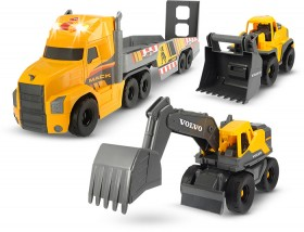 Dickie-Mac-Volvo-Heavy-Loader-Truck-Set on sale