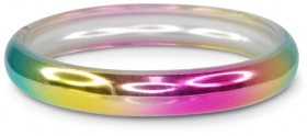 Pink-Poppy-Metallic-Rainbow-Bangle on sale
