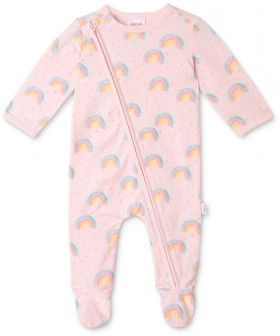 Sprout-Coverall-Pink on sale