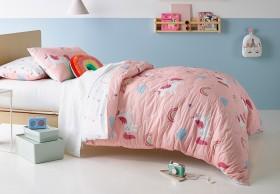 Milkshake-Rainbow-Unicorn-Quilted-Quilt-Cover-Set on sale