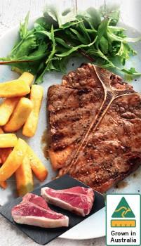 Australian-Beef-T-Bone-Steak on sale