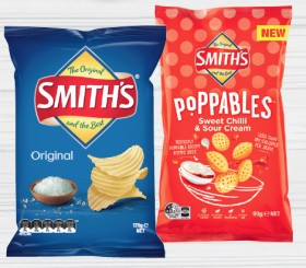 Smiths-Crinkle-Cut-Poppables-or-Oven-Baked-Chips-90-170g-Selected-Varieties on sale