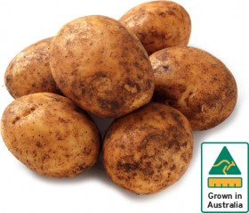 Brushed-Potatoes-2kg-Pack on sale