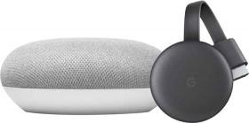Google-Nest-Mini-and-Chromecast-Package on sale