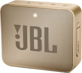 JBL-GO-2-Portable-Bluetooth-Speaker-Champagne on sale