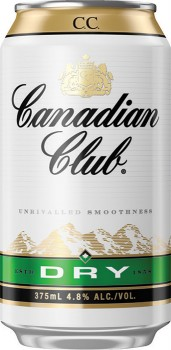 Canadian-Club-Dry-4.8-Premix-Cans-375mL-10-Pack on sale