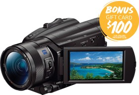 Sony-FDR-AX700-4K-HDR-Digital-Video-Camera on sale