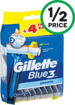 Gillette-Blue-3-Disposable-Razors-Pk-16 on sale