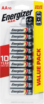Energizer-Max-AA-Pk-10 on sale