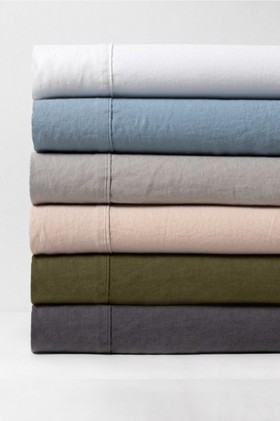 Hampton-Linen-Sheet-Set on sale