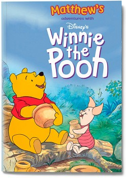 Personalised-My-Adventures-with-Winnie-the-Pooh-Book on sale