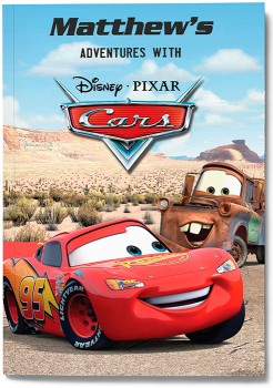 Personalised-My-Adventures-with-Cars-Book on sale