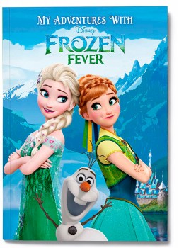 Personalised-My-Adventures-with-Disney-Frozen-Fever-Book on sale