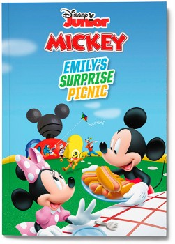Personalised-Mickey-Mouse-Surprise-Picnic-Book on sale