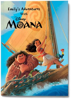 Personalised-My-Adventures-with-Moana-Book on sale